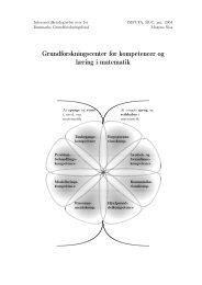 Grundforskningscenter for kompetencer og læring i matematik