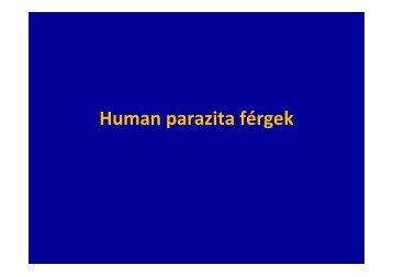 Orvosi parazitológia II