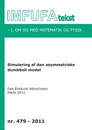 479 - Institut for Natur, Systemer og Modeller (NSM) - Roskilde ...