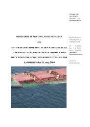HAMMEREN den 31. maj 2003 - Søfartsstyrelsen