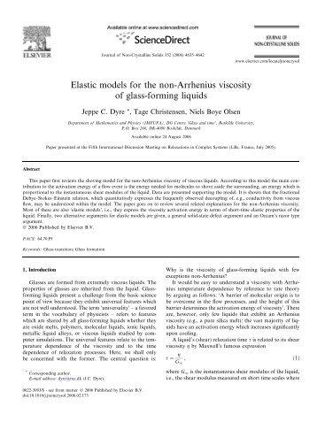 Elastic models for the non-Arrhenius viscosity of glass-forming liquids