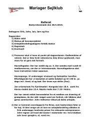 Referat fra bestyrelsesmødet den 28.04.2010.pdf - Mariager Sejlklub