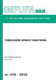 470 - Institut for Natur, Systemer og Modeller (NSM) - Roskilde ...