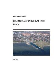 Helhedsplan for Hvidovre Havn, juli 2009 - Hvidovre Kommune