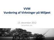VVM-præsentation 13 december 2012 - sandroos.dk