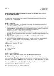 MAT/SN 5. februar 2003 j.nr. 2003-68-064/ Referat af møde 01/03 i ...