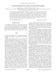 Phys. Rev. E 75, 041502 (2007): Conventional methods fail to ...