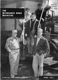 April, 1955 - Milwaukee Road Archive