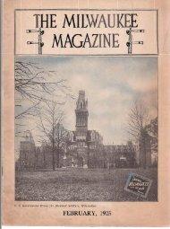 FEBRUARY, 1925 - Milwaukee Road Archive