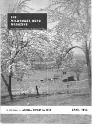 April, 1954 - Milwaukee Road Archive