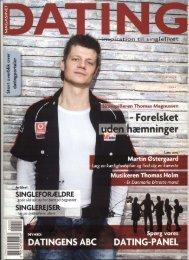 i Magasinet Dating marts 2008 - Thomas Magnussen - Skuespiller