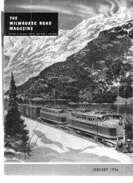 JANUARY 1956 - Milwaukee Road Archive