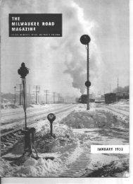 MILWAUKEE ROAD MAGAZINE - Milwaukee Road Archive