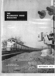 November, 1955 - Milwaukee Road Archive