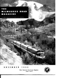 NOVEMBER 1950 - Milwaukee Road Archive