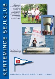 Blad nr. 4 - 2012 - 39. årgang - Kerteminde Sejlklub