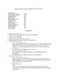 Referat fra bestyrelsesmøde 18/08-2008 - Jyllinge Lystbådehavn