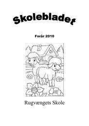 Skoleblad forår 2011 - Rugvængets Skole