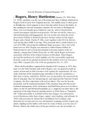 1. Rogers, Henry Huttleston(January 29, 1840 -May - Milwaukee ...