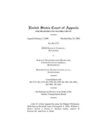 06-1372 - US Court of Appeals - DC Circuit