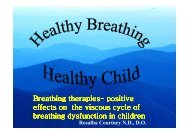 Breathing Dysfunction In Kids,Rosalba Courtney, ND DO