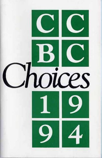 1995, Friends of the CCBC, Inc. (ISBN 0 - MINDS@UW Home
