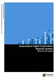 General user guide for QDEX - Queensland Mining and Safety ...