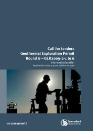 Call for tenders Geothermal Exploration Permit Round 6