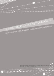 supporting resource sector growth - Queensland Mining and Safety ...