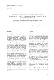 reflexiones en torno a la aplicabilidad pedagogica de la informatica