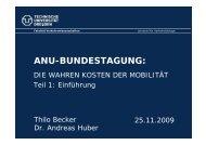 ANU-BUNDESTAGUNG: - ANU Hamburg