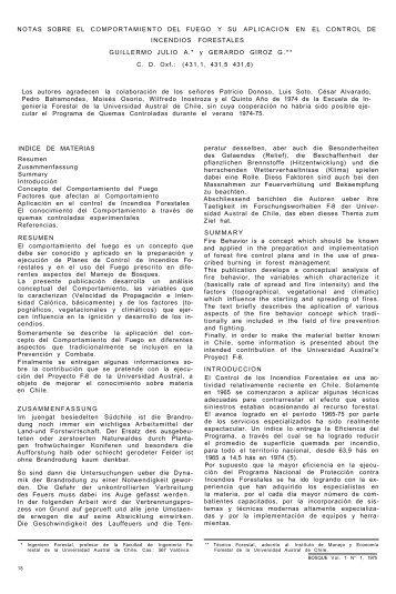 notas sobre el comportamiento del fuego y su aplicacion en el ...