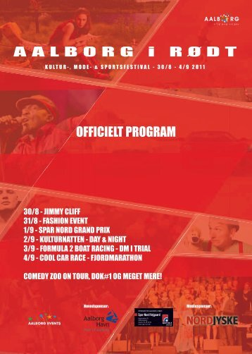 OFFICIELT PROGRAM - Aalborg Events