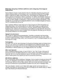 Side 1 Miljørigtig ophugning af offshore - Offshore Center Danmark