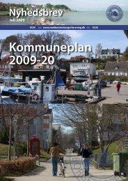 Nyhedsbrev juli 2009 - Kommuneplan - snekkerstenborgerforening.dk