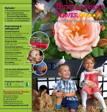 – oplevelseshaver, dyr og legepark - Birkegårdens Haver