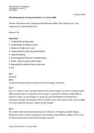 1. Godkendelse af dagsorden 2. Godkendelse af referat fra sidst 3 ...