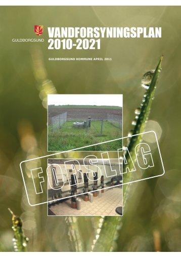 Vandforsyningsplan, Plandel.pdf - Guldborgsund Kommune