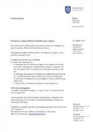 Forslag til lokalplan 209 for De Runde Haver - Rudersdal Kommune