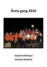 Årets gang 2010 - Skærbæk Bådeklub