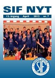 SIF NYT - 12. årgang - April 2012 - nr. 7 - Sørbymagle Idrætsforening