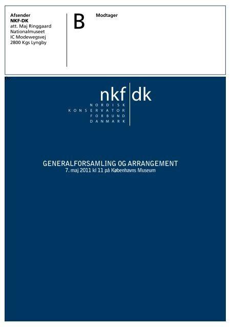 download pdf: 2,1mb - Nordisk Konservatorforbund Danmark