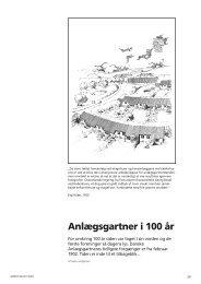 Anlægsgartner i 100 år - Grønt Miljø
