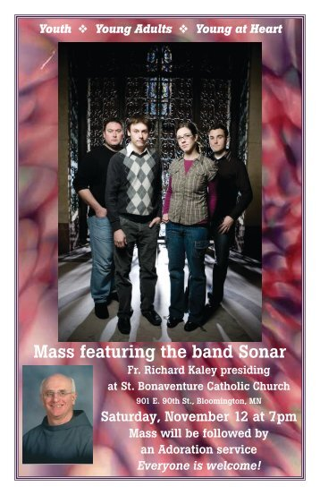 Mass featuring the band Sonar