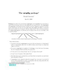 The Comprehensive LaTeX Symbol List - CTAN