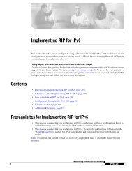 Implementing RIP for IPv6 - Kambing UI