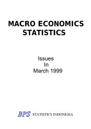 MACRO ECONOMICS STATISTICS