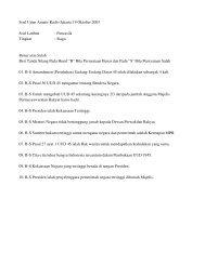 Soal Ujian Amatir Radio Jakarta 19 Oktober 2003 Soal ... - Kambing UI
