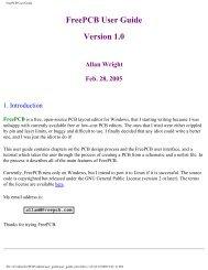 FreePCB User Guide - Kambing UI