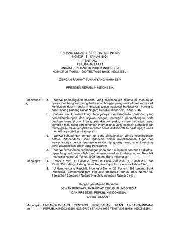 undang-undang republik indonesia nomor 3 tahun ... - Kambing UI